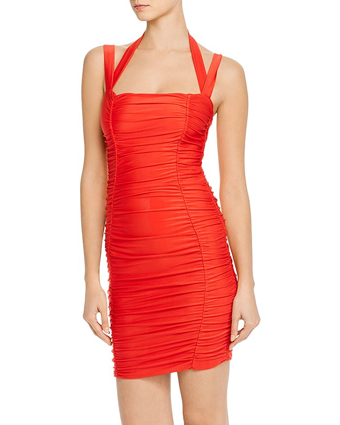 Tiger Mist - Tilly Ruched Body-Con Dress
