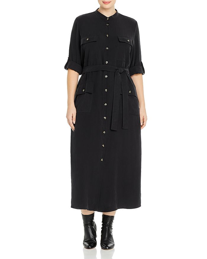 Marina Rinaldi Dresses DADAISTA BELTED SHIRT DRESS