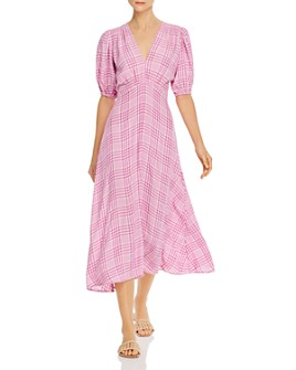 Faithfull the Brand - Vittoria Plaid Midi Dress