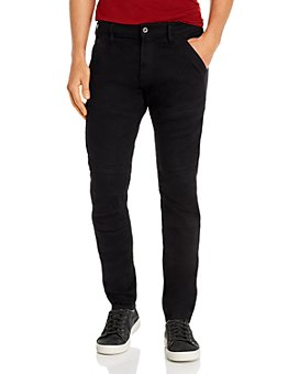 G-STAR RAW - Rackam 3-D Skinny Fit Jeans in Pitch Black
