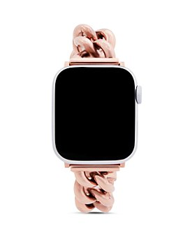 Rebecca Minkoff - Apple Watch® Rose Gold-Tone Link Bracelet, 38mm & 40mm