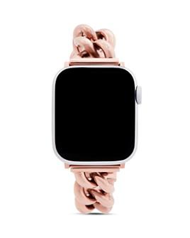 Rebecca Minkoff - Apple Watch® Rose Gold-Tone Link Bracelet, 38mm & 40mm