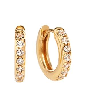 Olivia Burton Huggie Hoop Earrings in Gold- or Rose Gold-Plated Sterling Silver