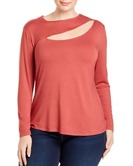 AQUA Curve - Asymmetric Cutout Top - 100% Exclusive