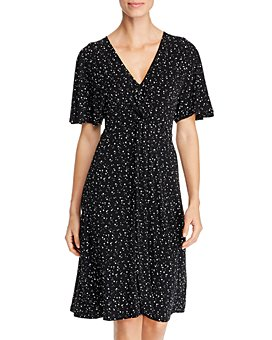Leota - Betty Twist-Front Midi Dress