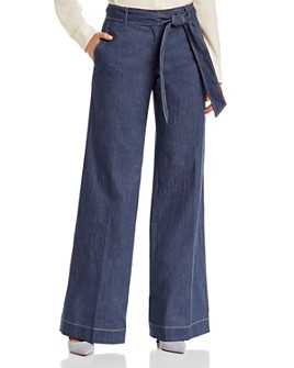 Lafayette 148 New York - Broadway Belted Wide-Leg Pants