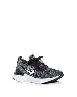 Nike - Unisex Epic React Flyknit Low-Top Sneakers - Big Kid