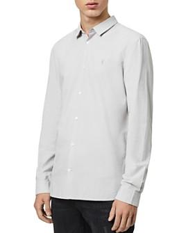 ALLSAINTS - Hains Slim Fit Button-Down Shirt