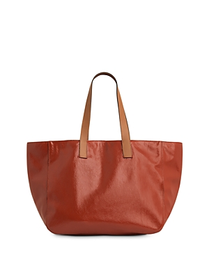 Gerard Darel Lady Cabas Leather Tote