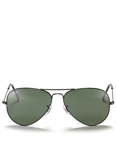 Ray-Ban - Unisex Classic Brow Bar Aviator Sunglasses, 58mm