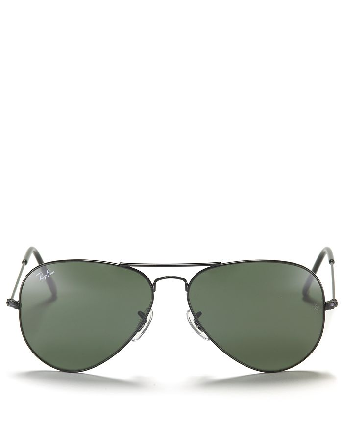 Ray-Ban - Unisex Original Brow-Bar Aviator Sunglasses, 58mm