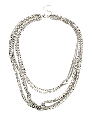 Allsaints Accessories STONE LAYERED NECKLACE, 17-20