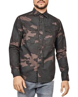 G-STAR RAW - Lecite Straight Fit Shirt Jacket