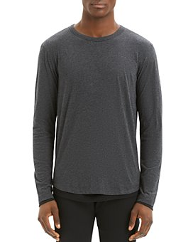 Theory - Long-Sleeve Double-Layer Tee
