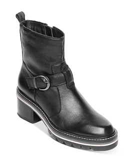 Bernardo - Women's Scout Stacked-Heel Booties