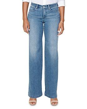 NYDJ - Wide-Leg Jeans in Brickell