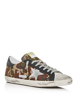 Golden Goose Deluxe Brand - Unisex Superstar Camo Low-Top Sneakers