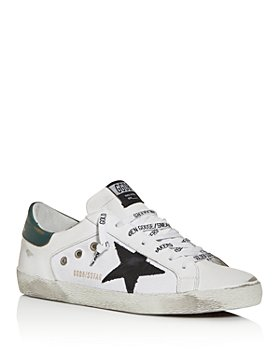 Golden Goose Deluxe Brand - Unisex Superstar Leather & Canvas Low-Top Sneakers
