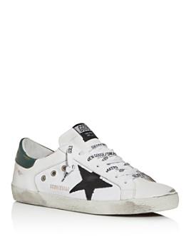 Golden Goose Deluxe Brand - Unisex Superstar Leather & Canvas Low-Top Sneakers