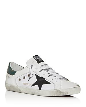 Golden Goose Deluxe Brand Men's Super-Star Low Top Sneakers