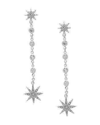 Ralph Lauren - Pavé Star Linear Earrings
