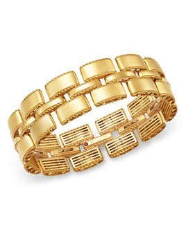 Roberto Coin - 18K Yellow Gold Retro Chain Link Bracelet