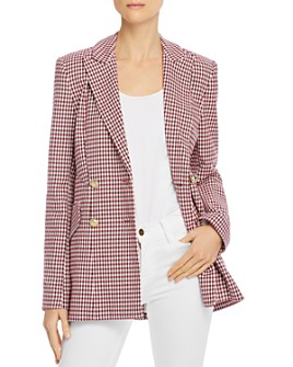 Derek Lam 10 Crosby - Rodeo Plaid Blazer