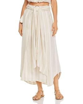 Significant Other - Phoenix Tonal-Stripe Maxi Skirt