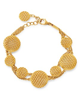 Roberto Coin - 18K Yellow Gold Wire Ball Bracelet