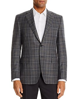 Canali - Siena Plaid Classic Fit Sport Coat