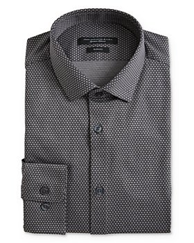 John Varvatos Star USA - Geo Pattern Jersey Slim Fit Dress Shirt