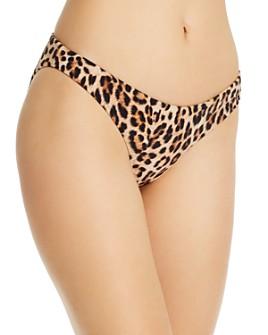 Peixoto - Bella Leopard Print Bikini Bottom