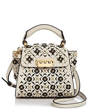 Zac Zac Posen Eartha Mini Floral Applique Crossbody-Handbags