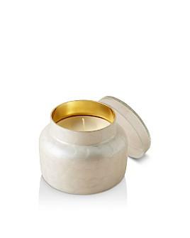 Anthropologie Home - Capri White Capiz Candle