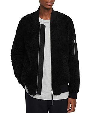 Allsaints Dale Shearling Bomber Jacket