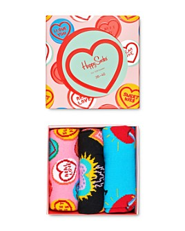 Happy Socks - I LOVE YOU Gift Box - Pack of 3