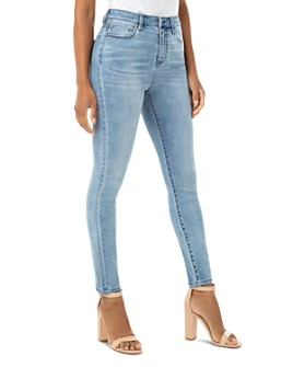 Liverpool Los Angeles - Bridget Skinny Ankle Jeans in Berkely Wash