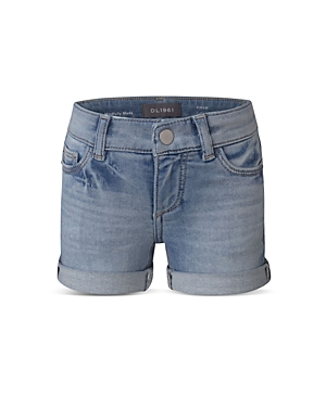 DL1961 Girls\\\' Piper Cuffed Denim Shorts - Little Kid-Kids
