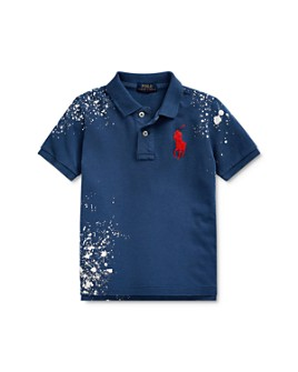 Ralph Lauren - Boys' Bleached Polo Shirt - Little Kid