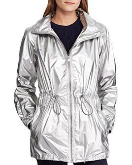 Ralph Lauren - Metallic Hooded Zip Jacket