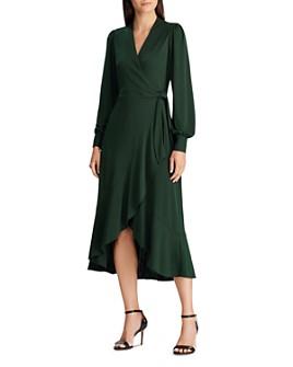 Ralph Lauren - Faux-Wrap Dress