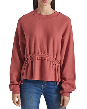 Current/Elliott The Bloom Drawstring Sweatshirt