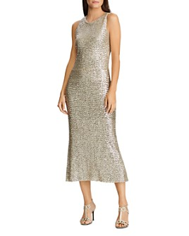 Ralph Lauren - Sequined Midi Dress