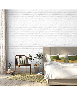 Tempaper - Brick Self-Adhesive, Removable Wallpaper, Double Roll