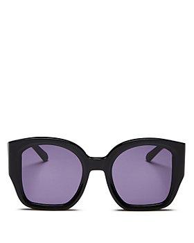 Karen Walker - Women's Check Mate Square Sunglasses, 49mm