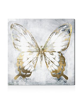 Oliver Gal - Butterfly Eroded Wall Art