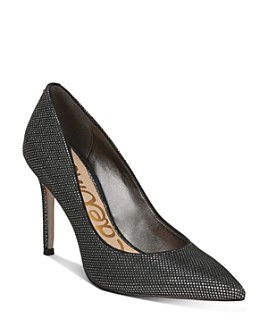 Sam Edelman - Women's Hazel Metallic Pumps
