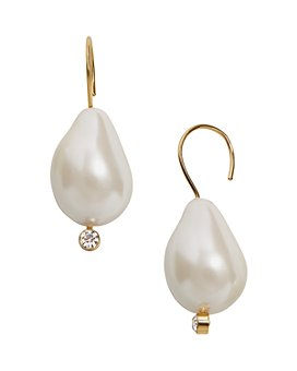 BAUBLEBAR - Dayla Simulated Pearl Threader Earrings