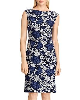 Ralph Lauren - Metallic Lace Dress - 100% Exclusive