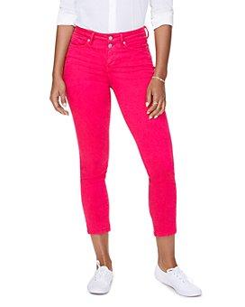 NYDJ - Sheri Slim Ankle Jeans in Big Pink